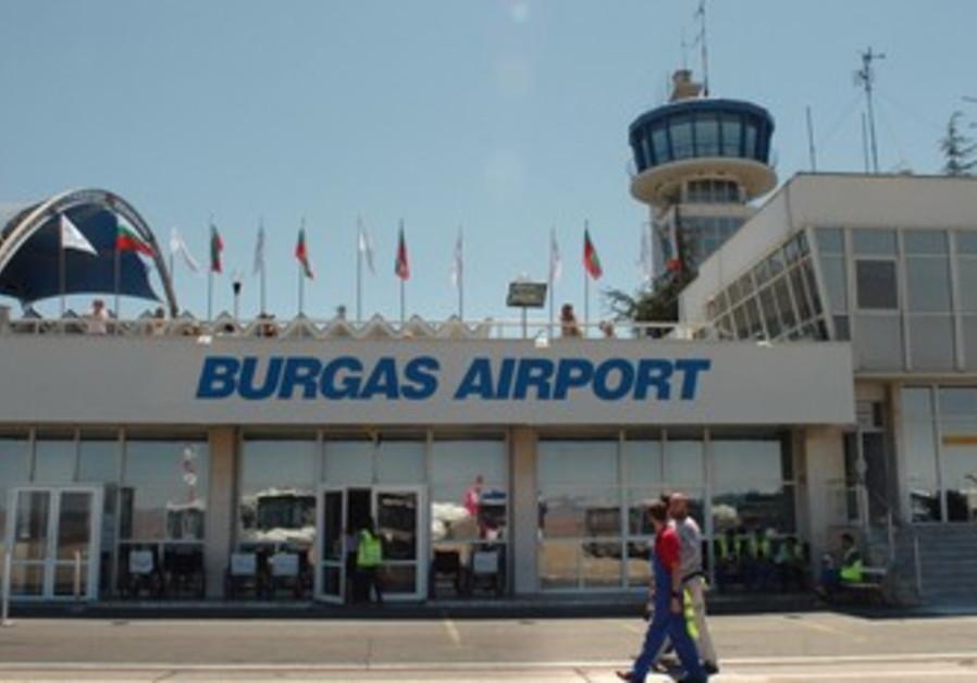 The Burgas Airport in Bulgaria.