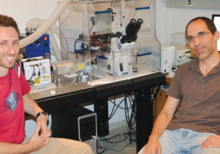 Dr. Eran Meshorer (right)