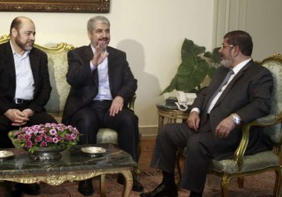 Mursi and Mashaal meet in Cairo