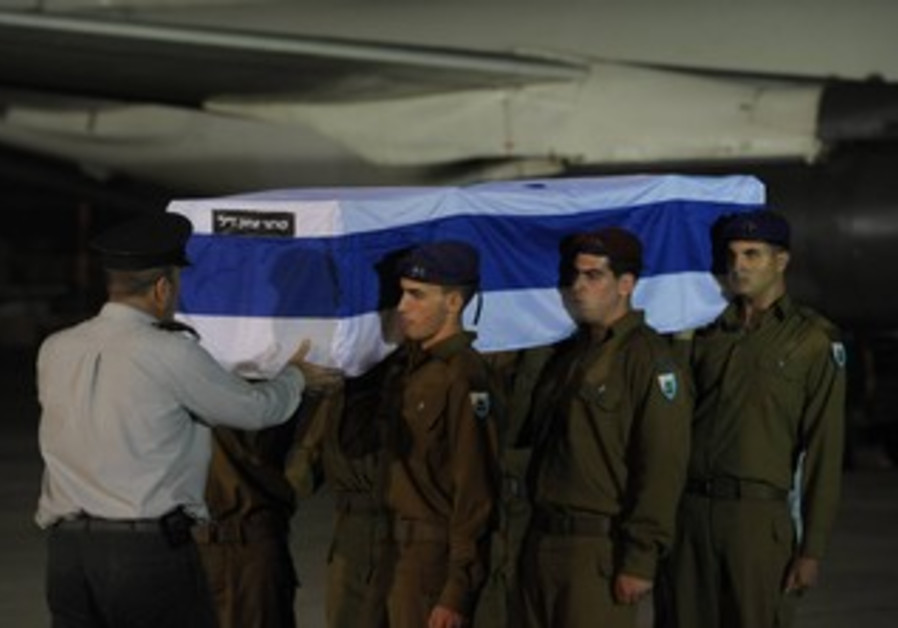 The body of an Israeli killed in Bulgaria attack