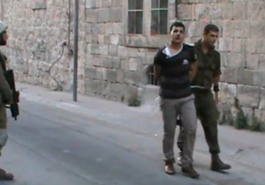 B'Tselem video of soldiers, Palestinians in Hebron
