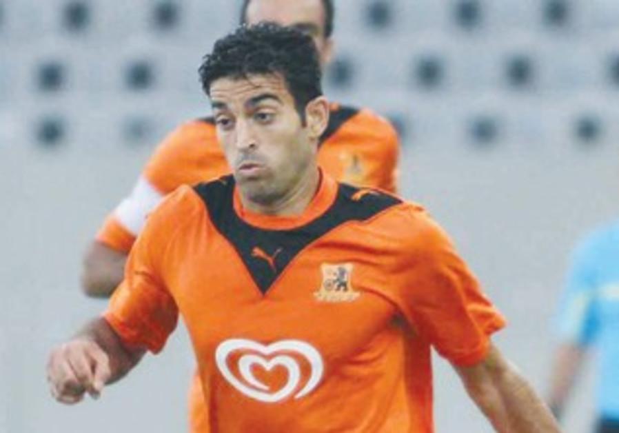 BNEI YEHUDA midfielder Shalev Menashe