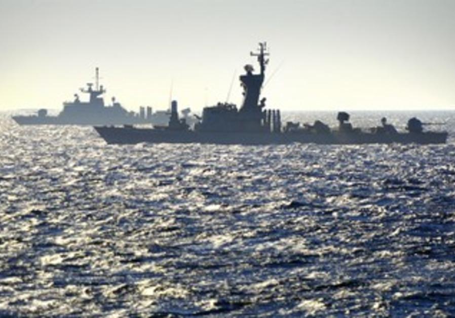Greek-Israeli joint naval exercise