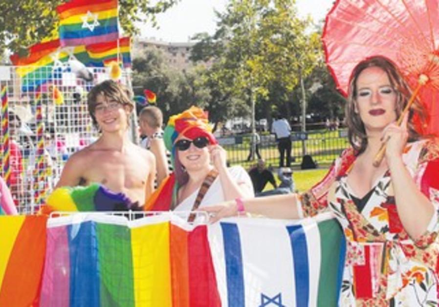 Jerusalem Gay Pride Parade 2010