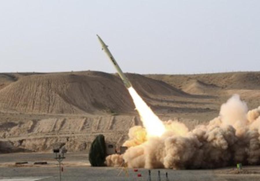 Iranian Fateh-110 missile [file]