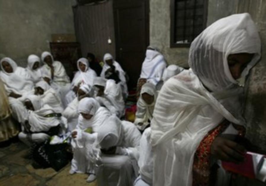 Ethiopian Christian Orthodox worshipers [file]