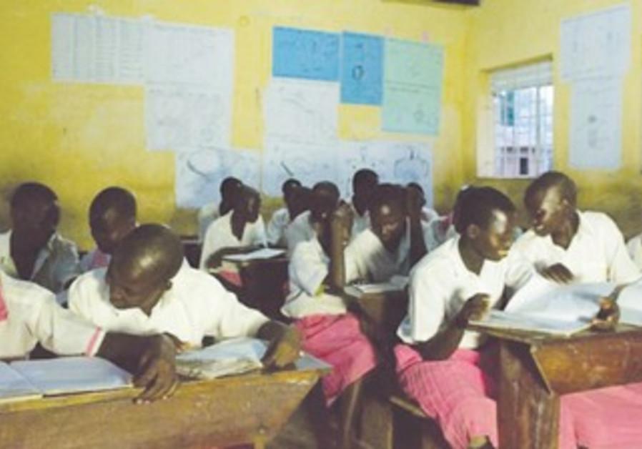 Lubuulo Primary School in eastern Uganda