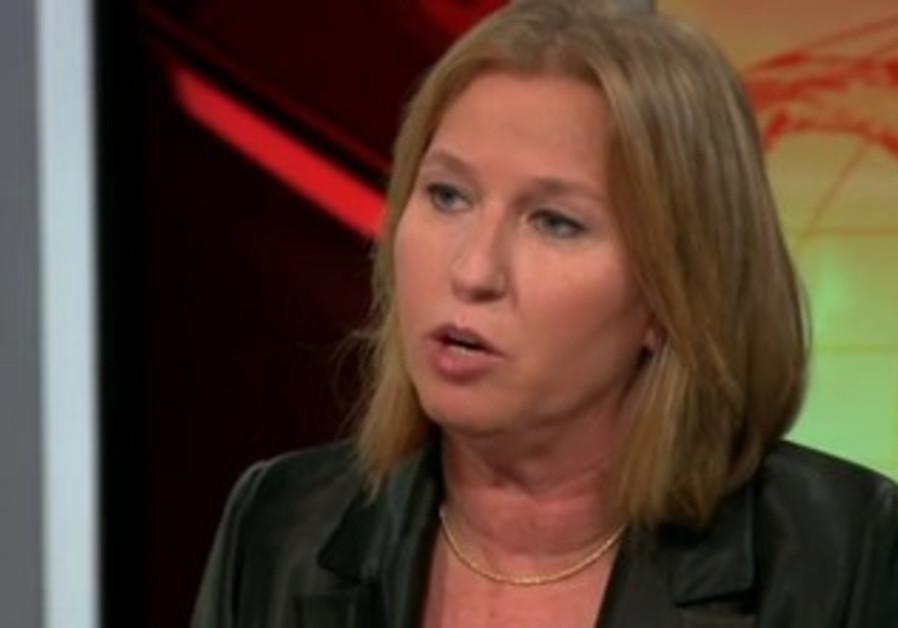 Livni on CNN