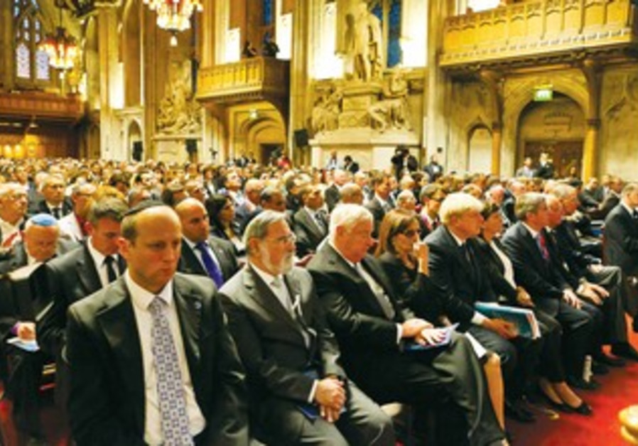 London Guildhall ceremony in memory of Munich 11