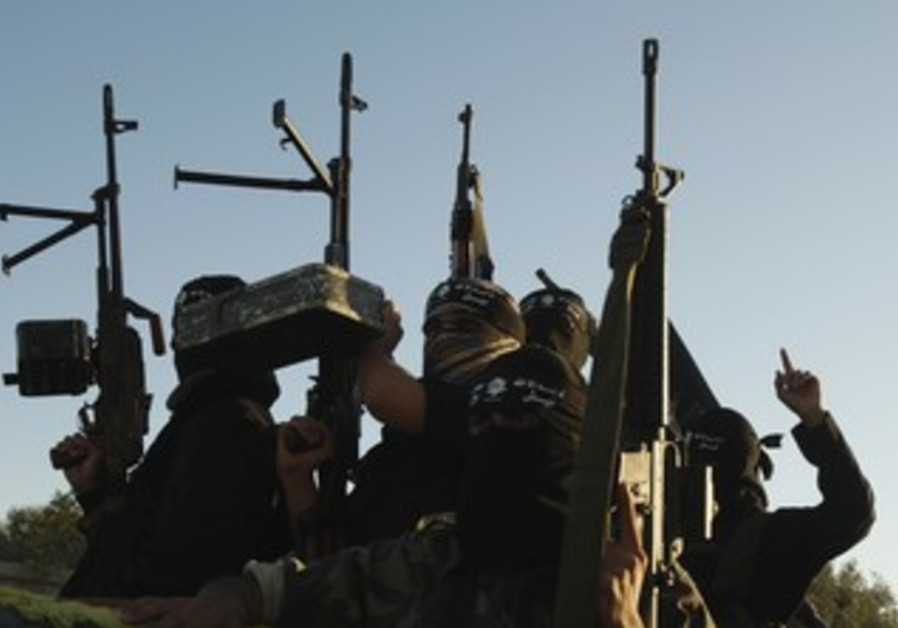 Army of Islam terrorists in Gaza [file photo]