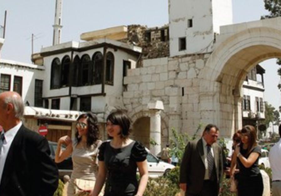 Church in Damascus