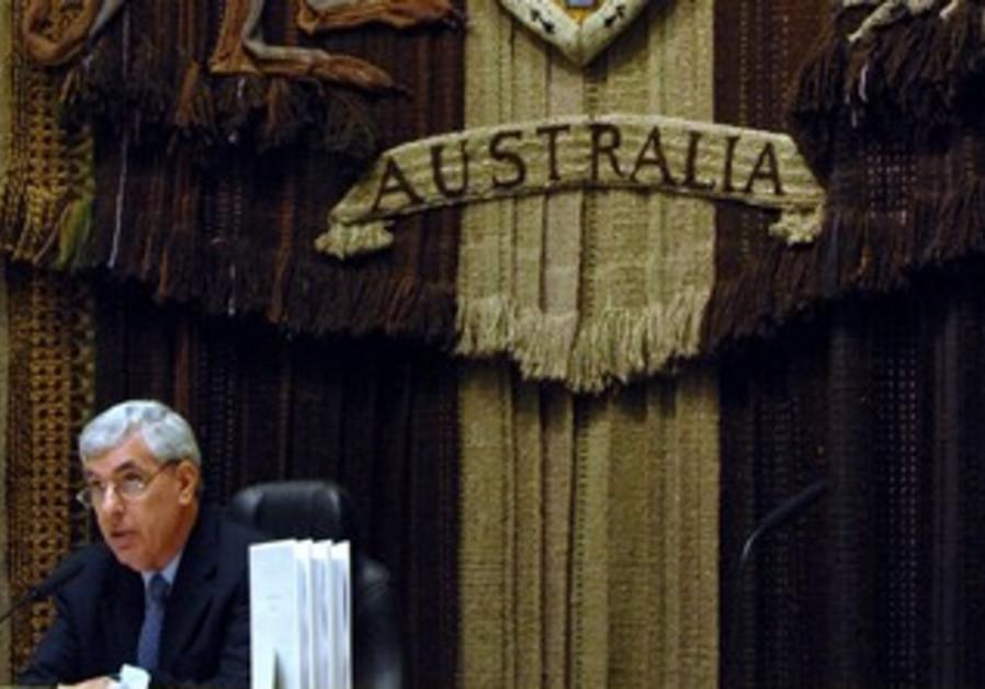 A Federal Court Judge in Australia [illustrative]