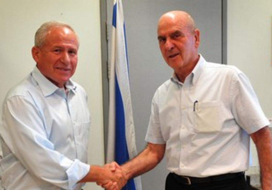 Avi Dichter and Matan Vilnai