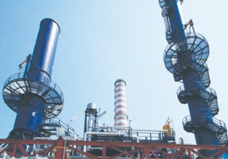 combined-cycle power plant in Venice