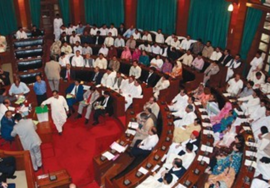 LAWMAKERS OF Pakistan's Sindh province