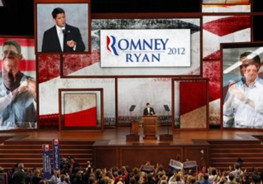 Republican vice presidential nominee Paul Ryan