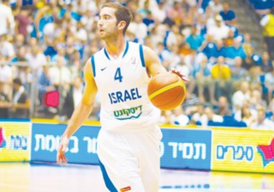 Israel National Team guard Yogev Ohayon