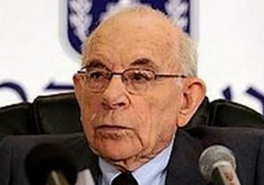 Former judge Eliyahu Winograd