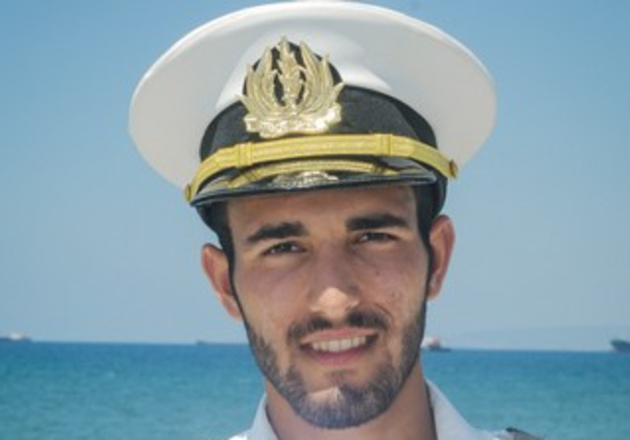 Israel Navy Lieutenant Oren Tamsut