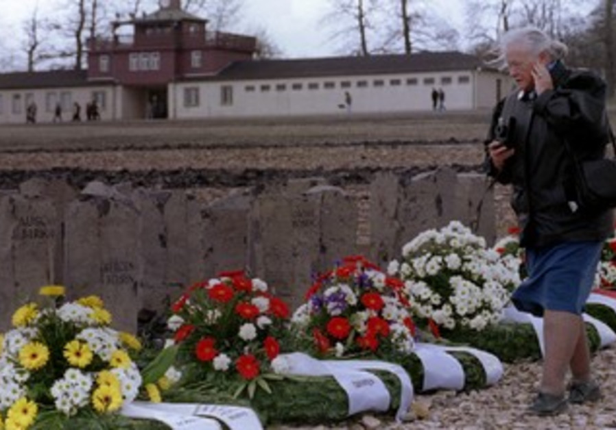 New memorial for the Gypsy victims at Buchenwald