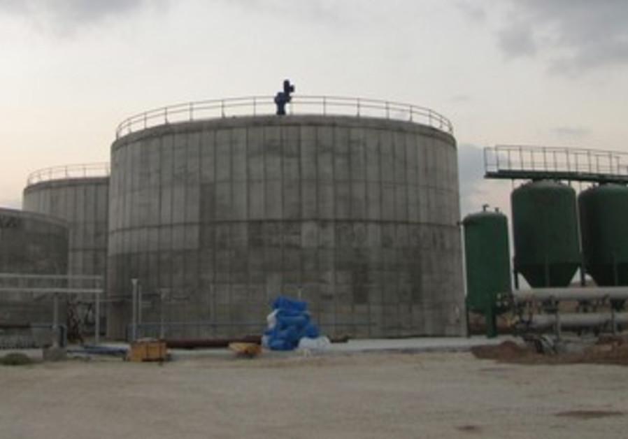 Be'er Tuviya Biogas plant.