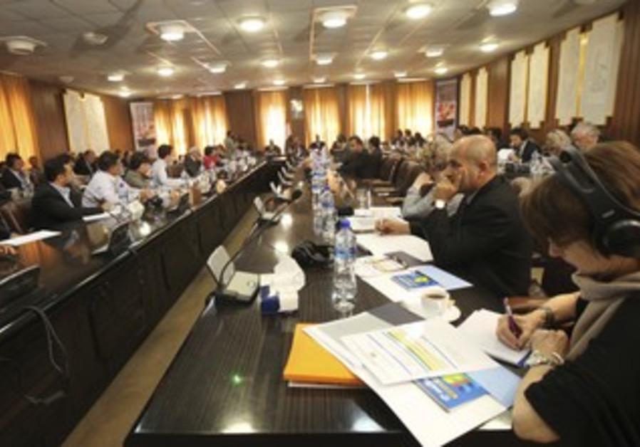 Members of Arab donor countries in Yemen