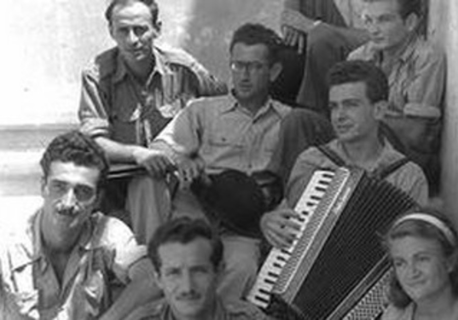 Hefer with the Chizbatron, September 1949