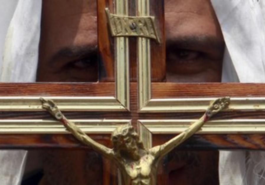 A Coptic Christian Cross