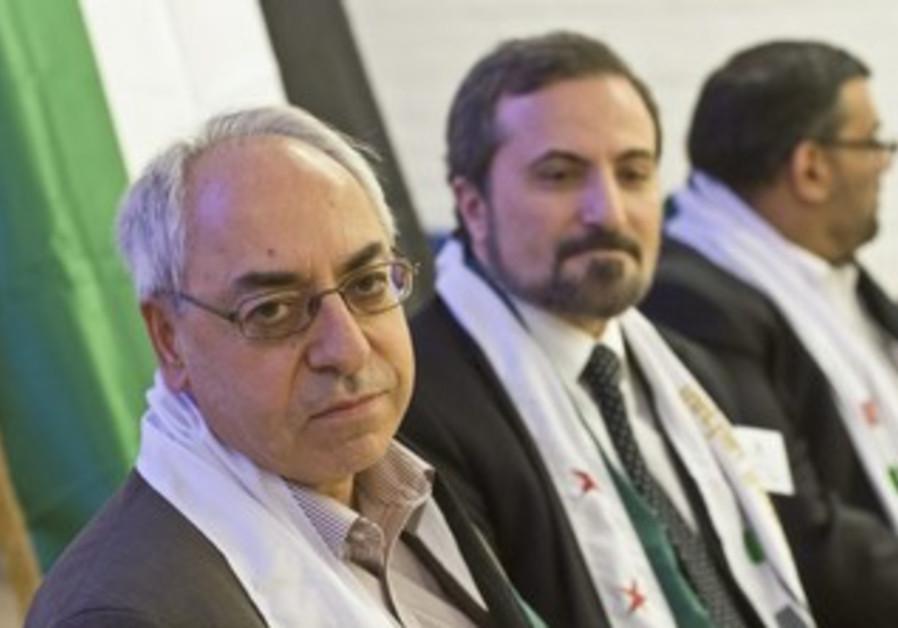 Abdulbaset Sieda, leader of the SNC