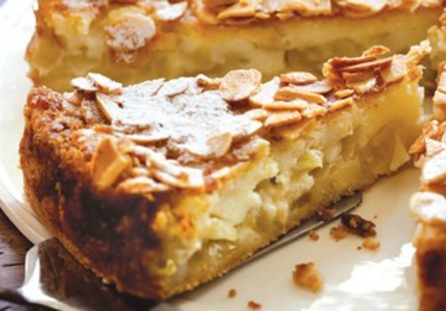 Apple honey pie