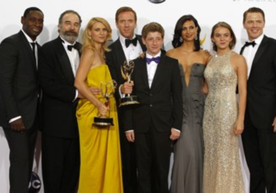 "Cast of ""Homeland"" at Emmy awards"