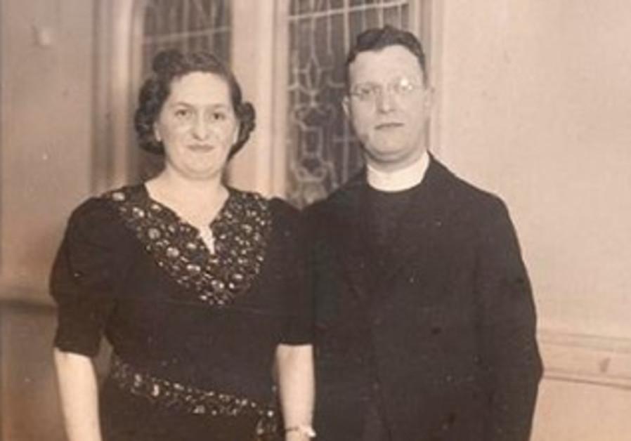 Rabbi Abraham Freedman and wife