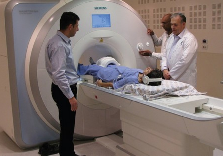 MRI Scanner at Shaare Zedek Medical Center.