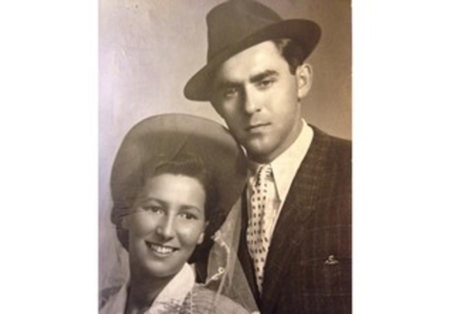 Daniel Eisenbud's late grandparents, in 1946