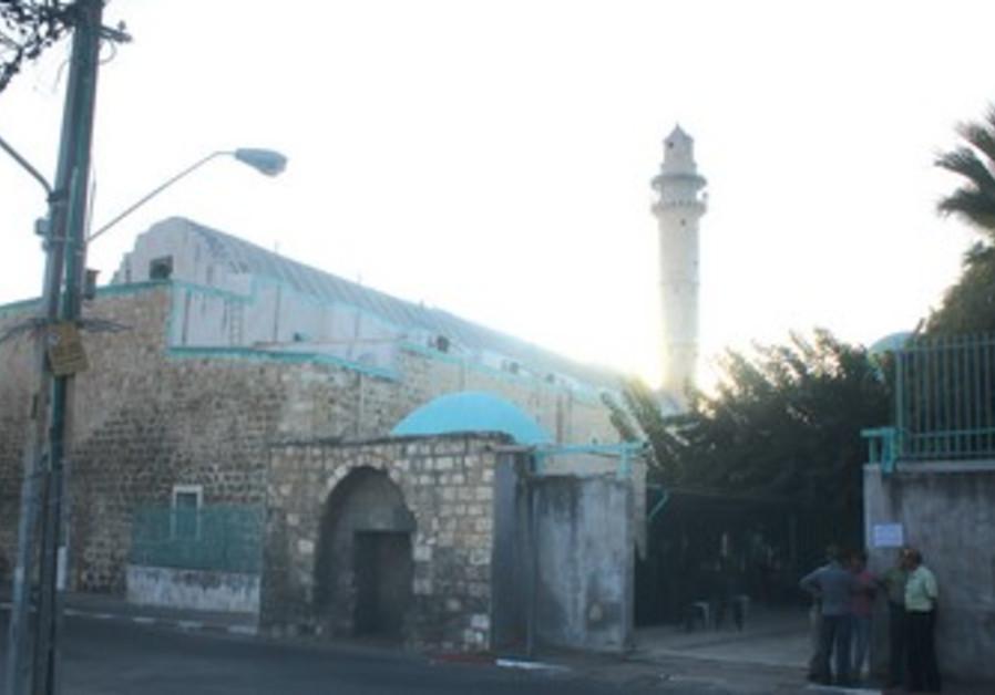 The Omari mosque in Ramle.