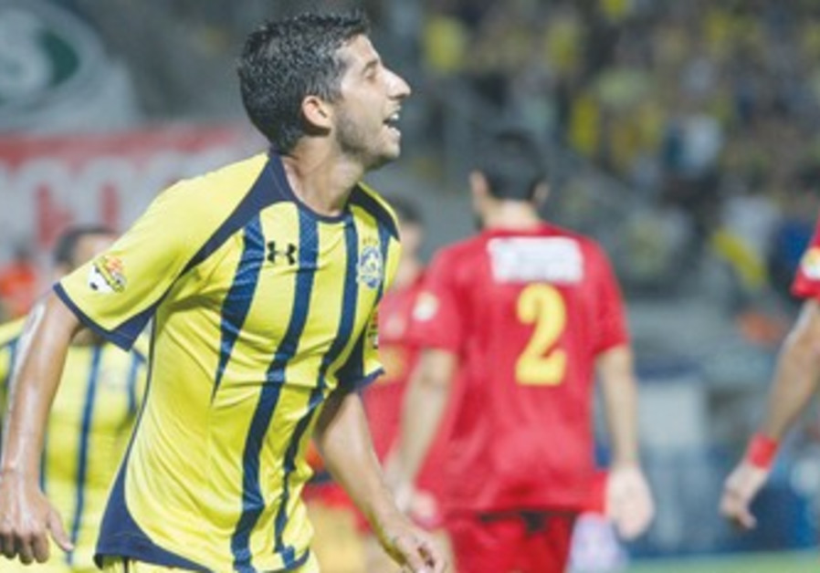 Maccabi Tel Aviv's Dor Micha.