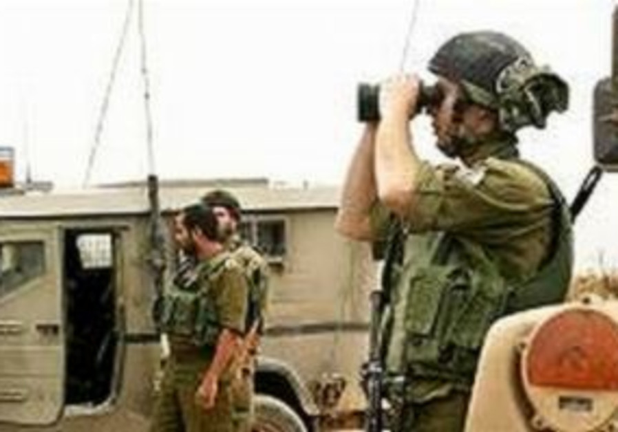 patrol idf troops soldiers