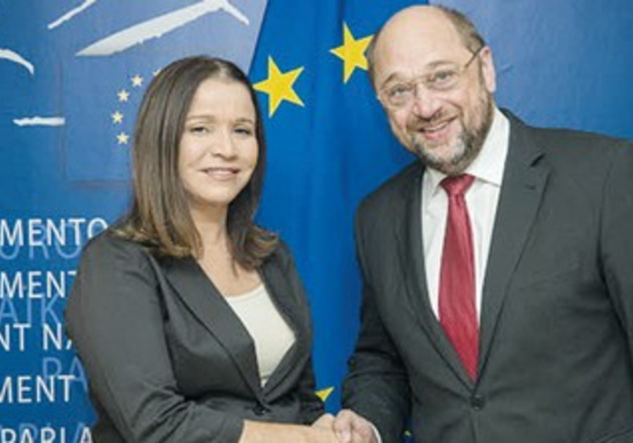 Shelly Yacimovich with EU President