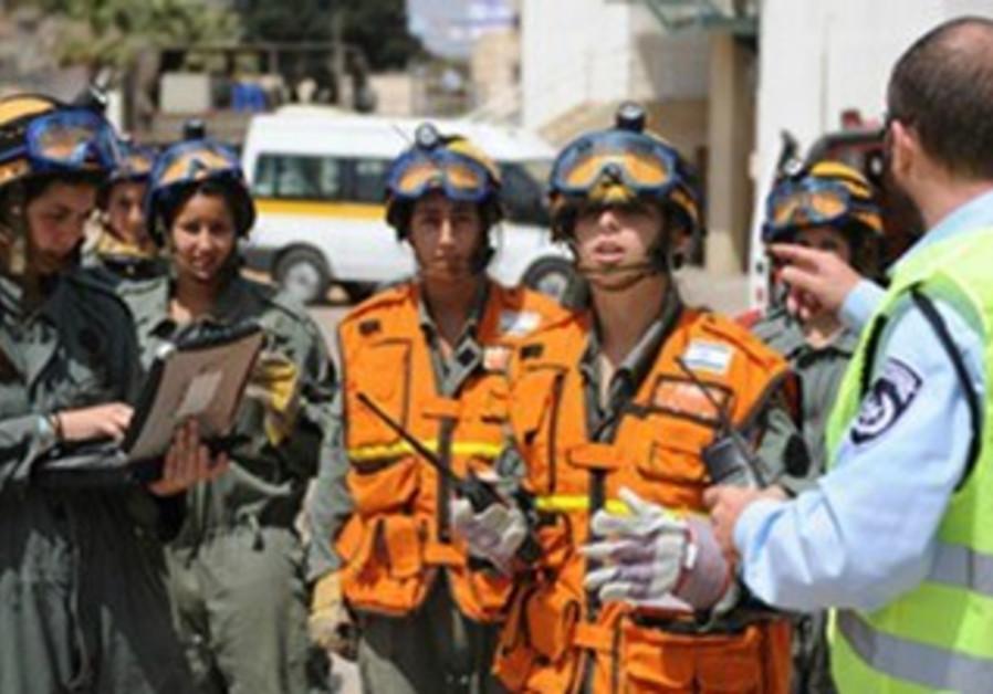 Emergency services representatives