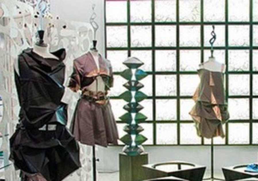 Holon Fashion Week Display