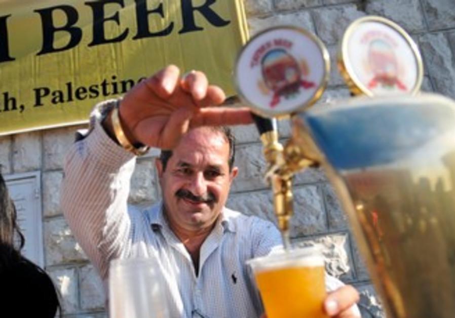 Nadim Khoury at Taybeh Brewing Company