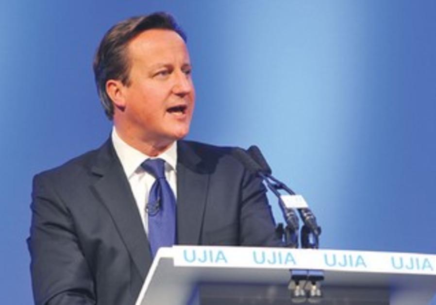 David Cameron at UJIA fundraiser