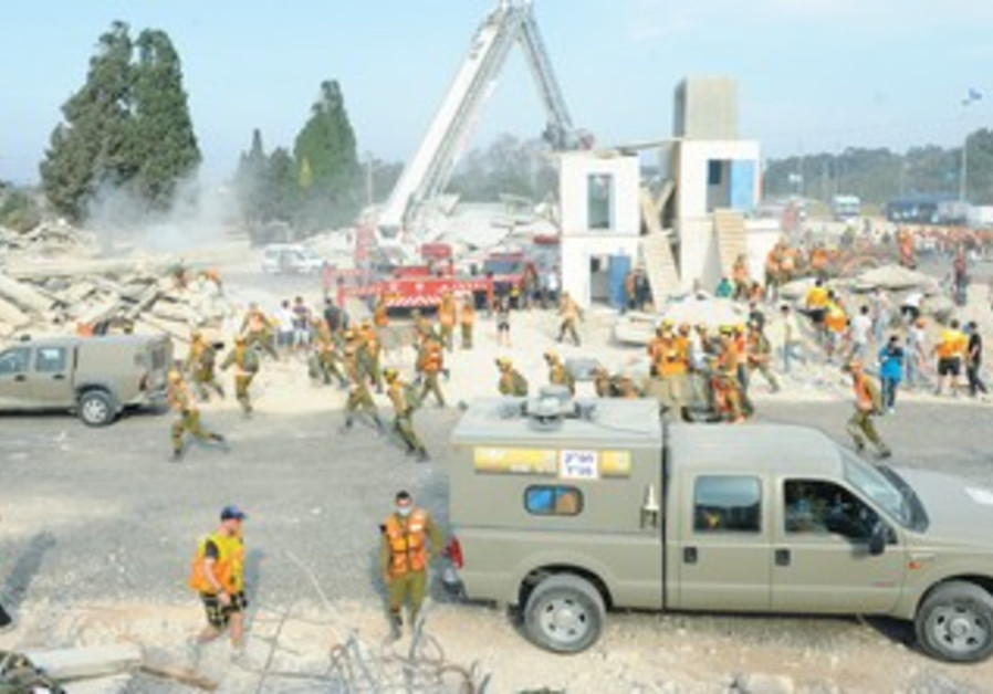 IDF preparing for earthquake drill