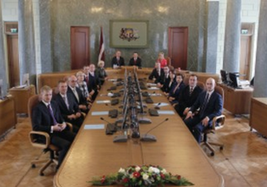 Latvia's Cabinet