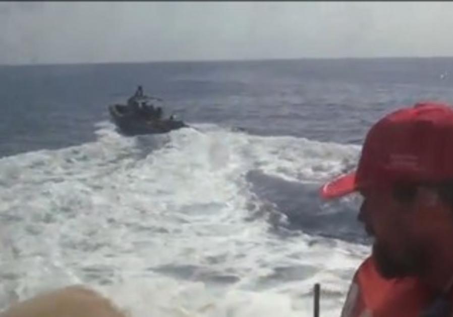 IDF prepares to board 'Estelle' ship