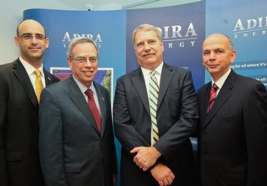 Canadian Minister Oliver visits Adira Energy in TA