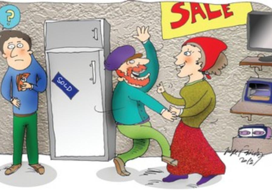 Negotiation Cartoon.