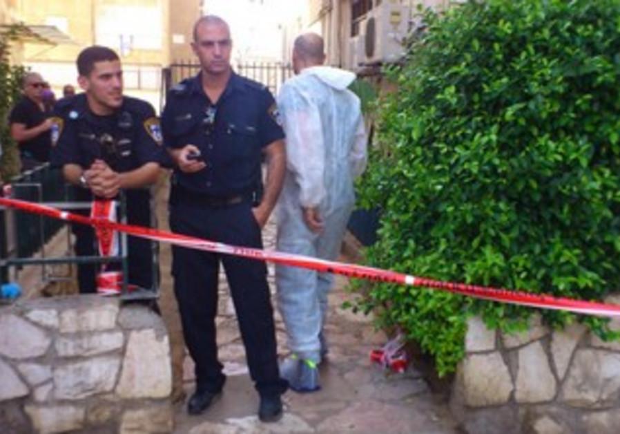 Israeli Police at crime scene [Illustrative]