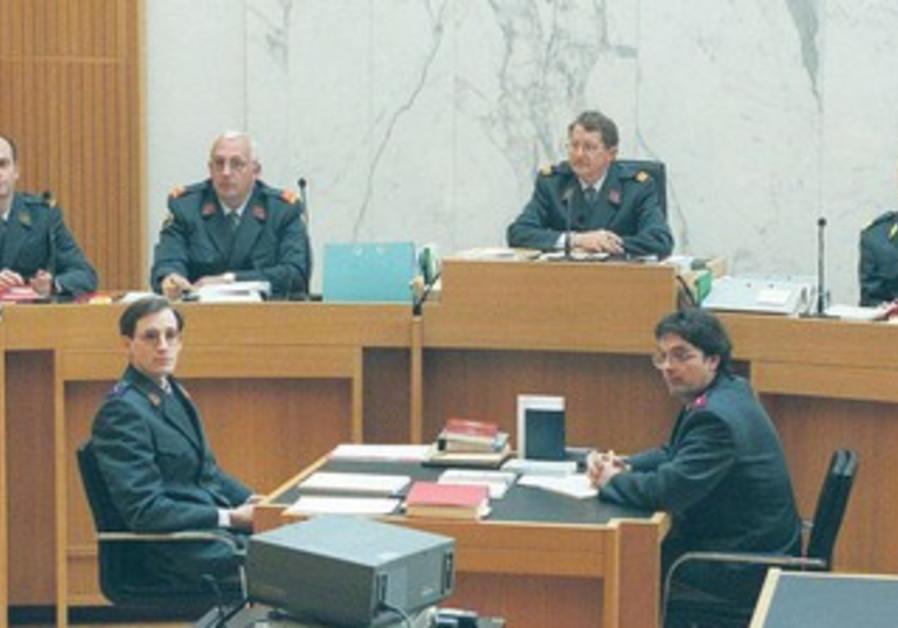 Military court in Rwanda in 1999