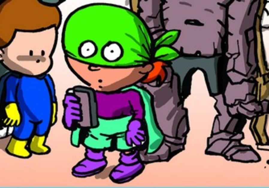 True Superheroes comic